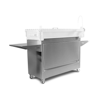 myGRILL Stainless Steel Cart for Medium Chef SMART