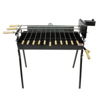 Cyprus Grill Modern Rotisserie Spit - Souvla Package Deal with 20kg Variable Speed Motor (Product of Cyprus) CG-0779B