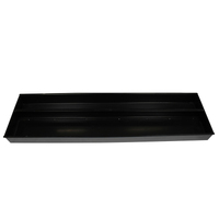 Big Spit Charcoal Pan / Tray - With Split Charcoal and Drip Section (CP-001)