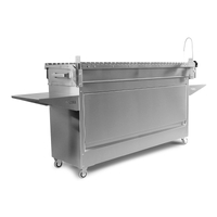 myGRILL Chef SMART Large with Stainless Steel Cart - Ultimate Package - PLUS