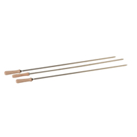 Cyprus Grill Large 8mm Square Skewers (Set of 3) - LS-2201B