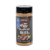 'Three Little Pigs'€ Touch of Cherry BBQ Rub  12.25oz Shaker Jar - Made in USA