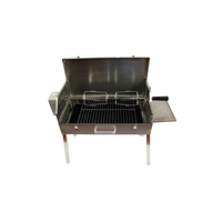 Portable Briefcase Rotisserie Spit Stainless Steel Body - very portable (folds up) PRS-3065
