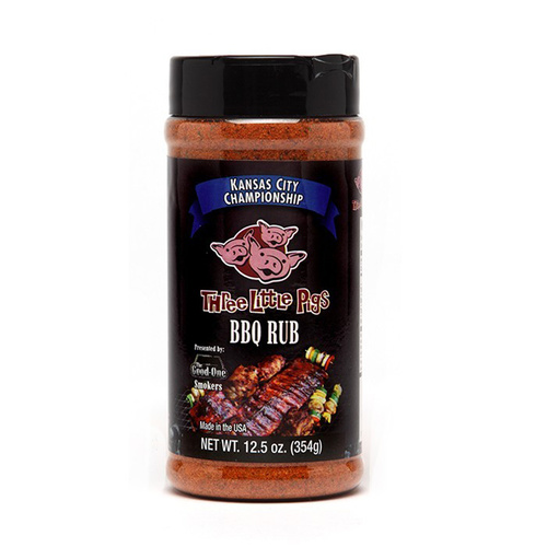 'Three Little Pigs'€ Championship BBQ Rub 12.5oz Shaker Jar - Made in USA